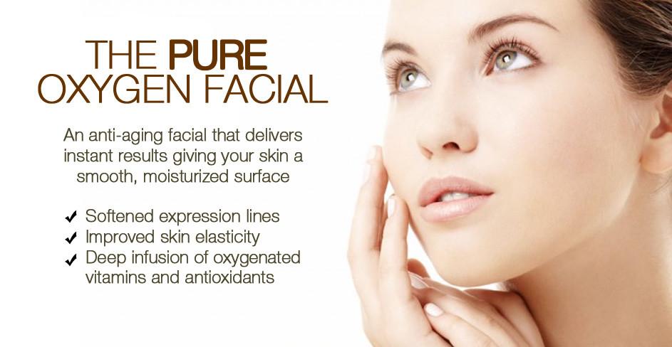pure oxygen facial