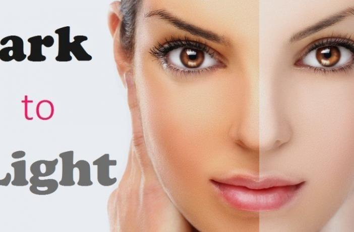 Non-invasive skin lightening