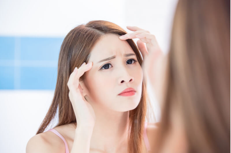 forehead fillers for wrinkles lines creases