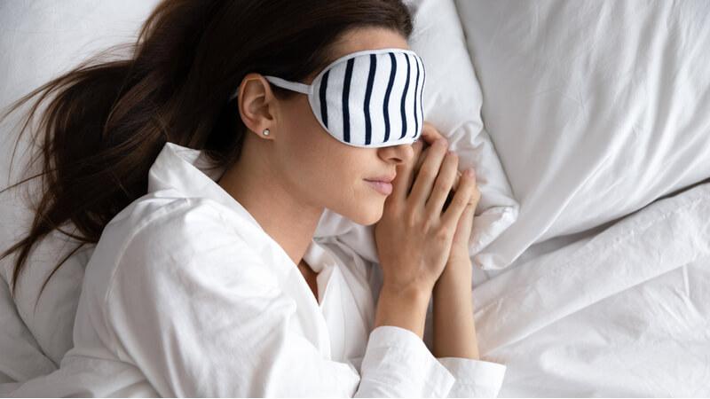 skin repair during sleep